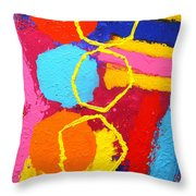 Jazz Process IIi Throw Pillow