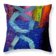 Jazz Process - Improvisation Throw Pillow