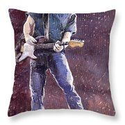 Jazz Rock John Mayer 01 Throw Pillow