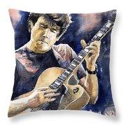 Jazz Rock John Mayer 06 Throw Pillow