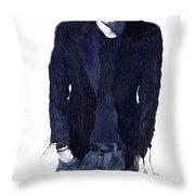 Jazz Rock John Mayer 07 Throw Pillow
