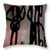 Jazz Trio 2 Throw Pillow