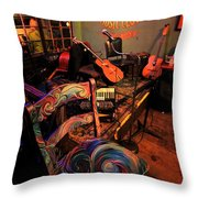 Jazza Matazz Throw Pillow