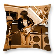 Jb #30 In Amber Throw Pillow