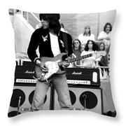 Jb #32 Throw Pillow