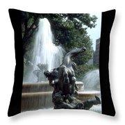 J.c.nichols Fountain 1 Kc.mo Throw Pillow
