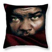 Jealous Othello Throw Pillow