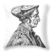Jean Fernel (1497-1558) Throw Pillow