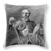 Jean Parisot De La Valette (1494-1568) Throw Pillow