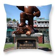 Jebediah Throw Pillow