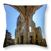 Jedburgh Abbey - 2 Throw Pillow
