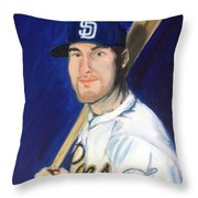 Jedd Gyorko Throw Pillow