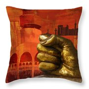 Jeddah Monument 01 Throw Pillow