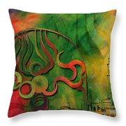 Jeddah Monument 02 Throw Pillow