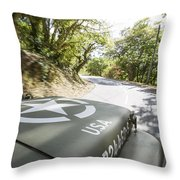 Jeep Willys Throw Pillow