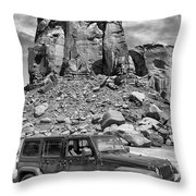 Jeep...it's A State Of Mind Throw Pillow