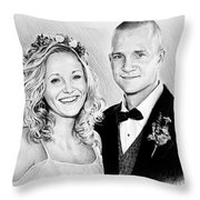Jeff And Anna Throw Pillow