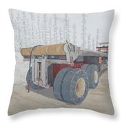 Jeff Watchell's #2 The Business End Throw Pillow