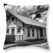 Jefferson Station 7k02041b Throw Pillow