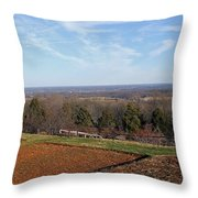 Jefferson's View From Monticello Throw Pillow