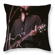 Jeffrey Gaines Throw Pillow