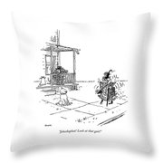 Jehoshaphat! Look At That Gait! Throw Pillow