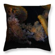 Jelley Fish Throw Pillow