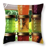 Jellies In A Window Throw Pillow