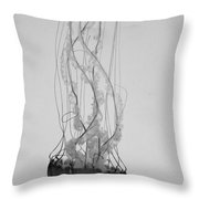 Jelly Fish Basics Throw Pillow