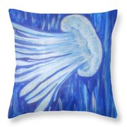 Jelly Fort Fisher Throw Pillow