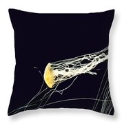 Jelly Of The Sea Throw Pillow