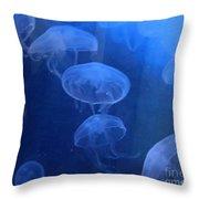 Jellyfish   #0547 Throw Pillow