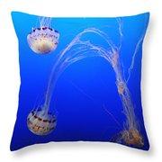 Jellyfish 1 Throw Pillow