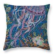 Jellyfish 2 Throw Pillow