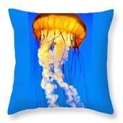 Jellyfish 5 Throw Pillow