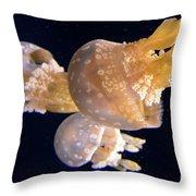 Jellyfish 8 Throw Pillow