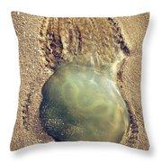 Jellyfish Throw Pillow by Carlos Caetano