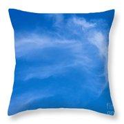Jellyfish Cloud Throw Pillow