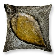 Jellyfish Leaf Throw Pillow