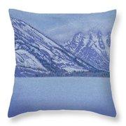 Jenny Lake - Grand Tetons Throw Pillow