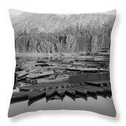 Jenny Lake Wyoming   Throw Pillow