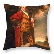 Jeremiah Milles, 1780-83 Throw Pillow