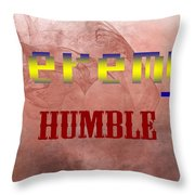 Jeremy - Humble Throw Pillow by Christopher Gaston
