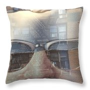 Jeremy In Shades Throw Pillow