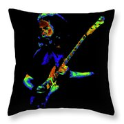 Jerome At The Rainbow Jam Throw Pillow