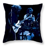Jerry And Billy At Winterland 2 Throw Pillow