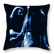 Jerry And Donna Blues 1978 Throw Pillow