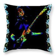Jerry And The Flowers 2 Throw Pillow