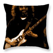 Jerry At Winterland 1977 Throw Pillow