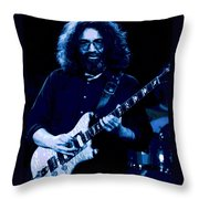 Jerry At Winterland 3 Throw Pillow